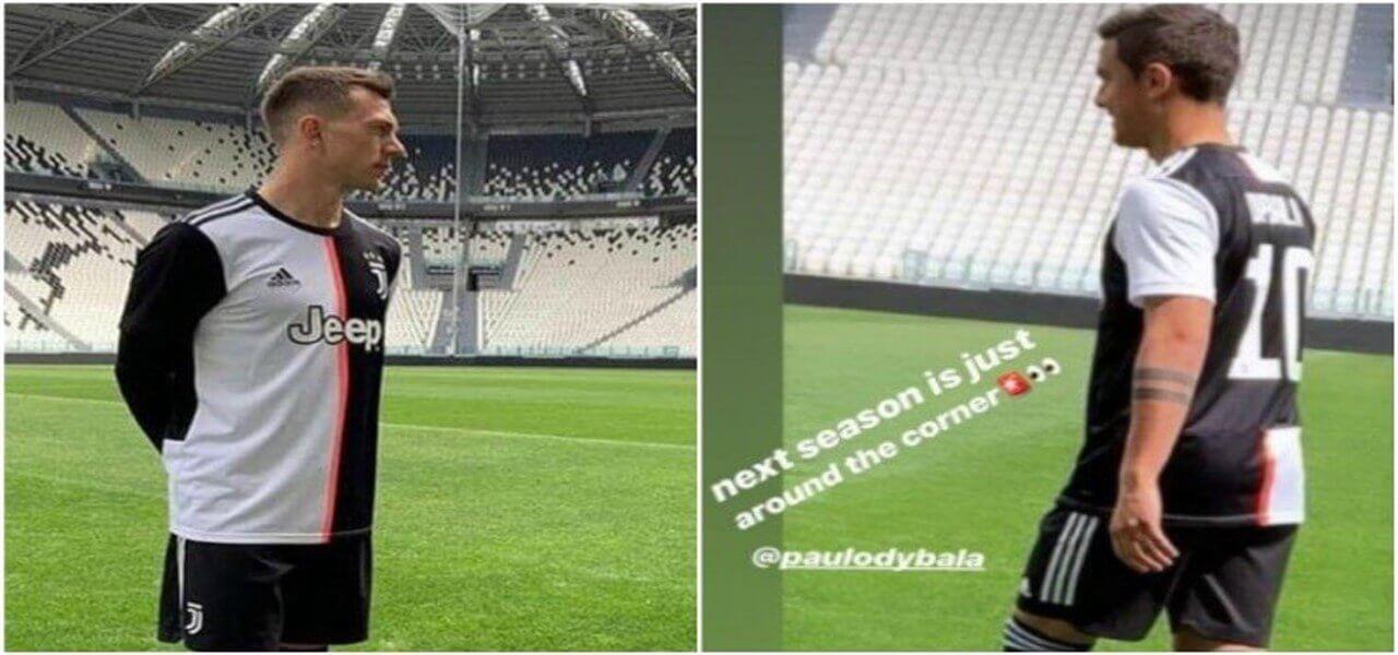 """0ba9c9cf6 Maglia Juve 2020: la nuova divisa """"a metà"""" non piace ai tifosi della  Vecchia Signora"""