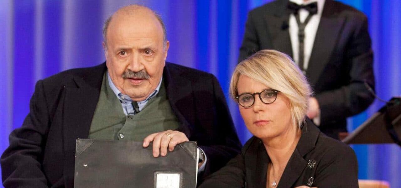 Maurizio Costanzo e Maria De Filippi