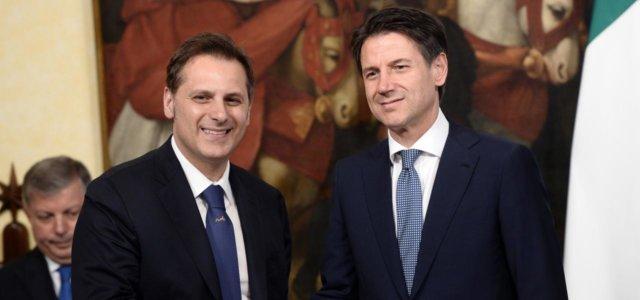 Armando Siri e Giuseppe Conte