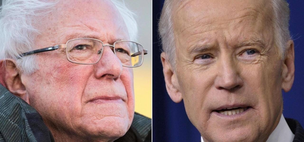 Bernie Sanders vs Joe Biden
