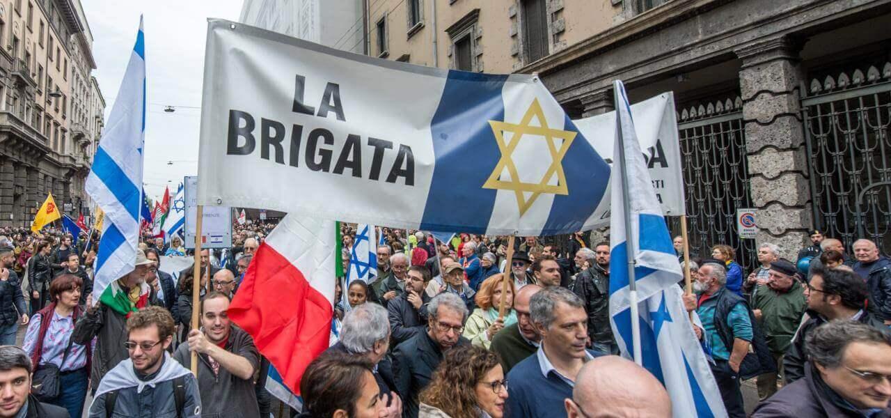 Brigata Ebraica a Milano