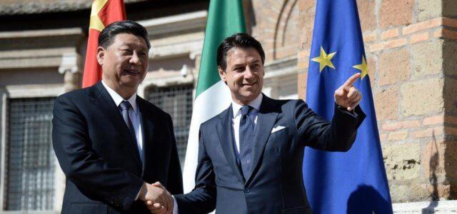 Xi Jinping e Conte a Roma