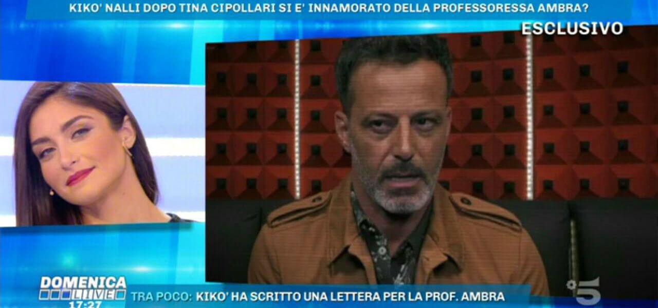 Ambra Lombardo a Domenica Live