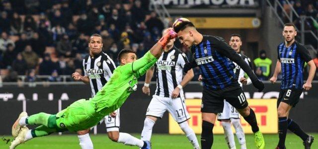 Inter Udinese Lautaro Musso
