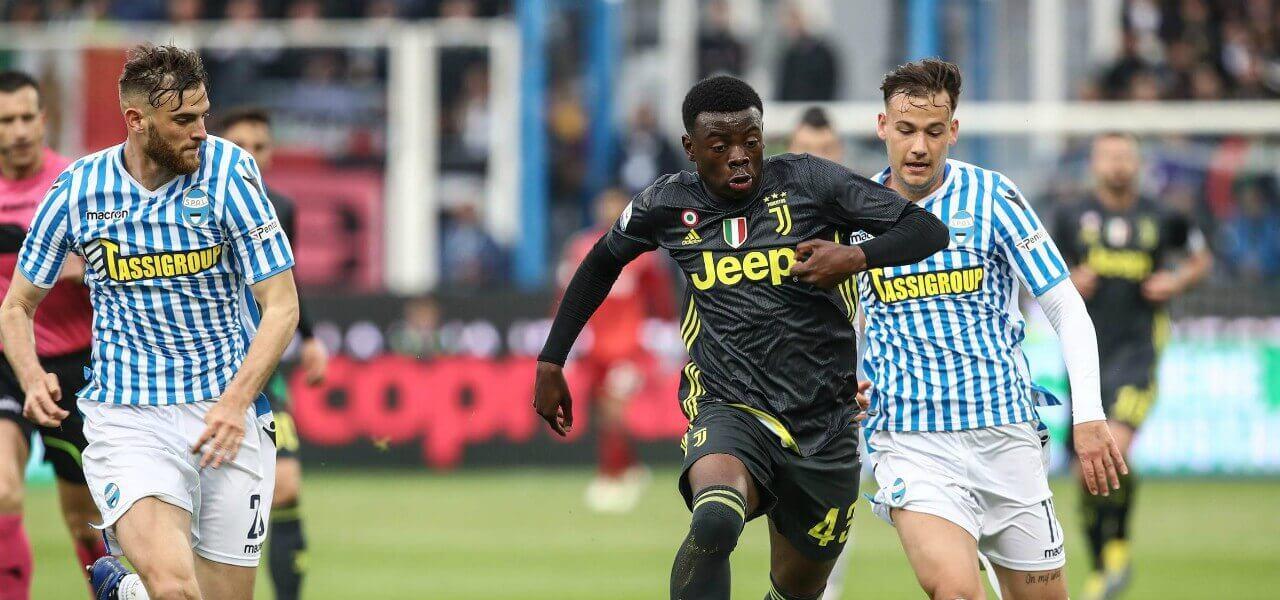 Gozzi Iweru Juventus Spal lapresse 2019