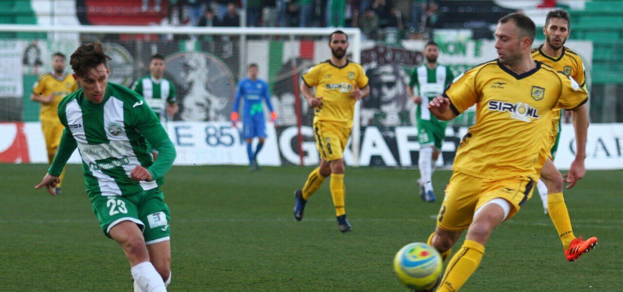 Lorenzo Paolucci Monopoli Juve Stabia lapresse 2019