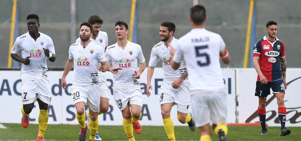 Pacilli Bismark Palermo Viterbese gol lapresse 2019