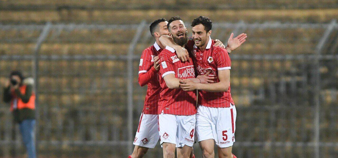 Pergreffi Bertoncini Piacenza gol lapresse 2019
