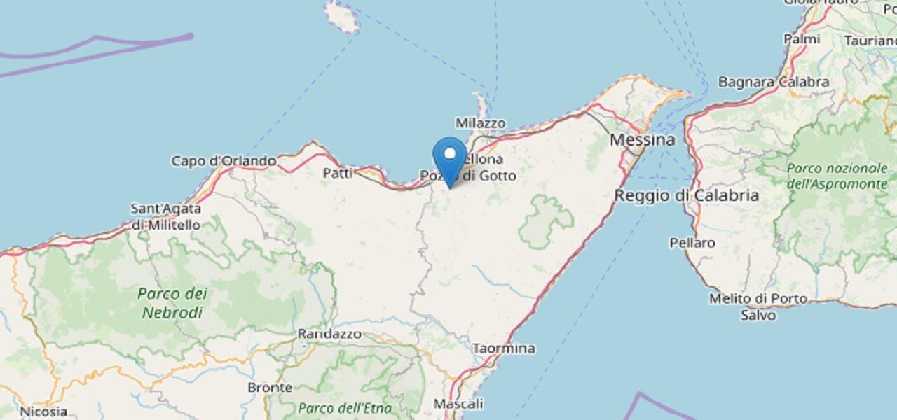 Terremoto Messina (INGV)