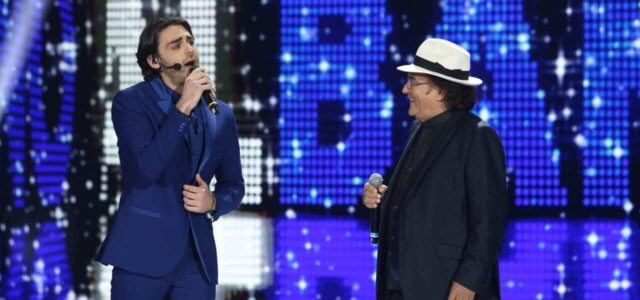 Alberto canta con Al Bano