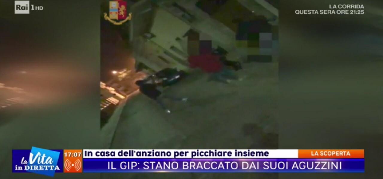 Manduria, omicidio Antonio Stano (La vita in diretta)
