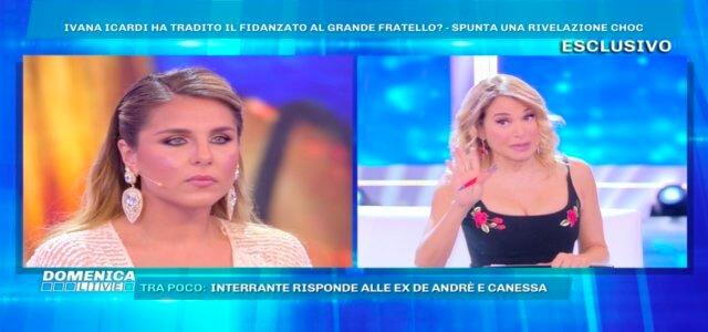 ivana icardi barbara durso domenica live 640x300