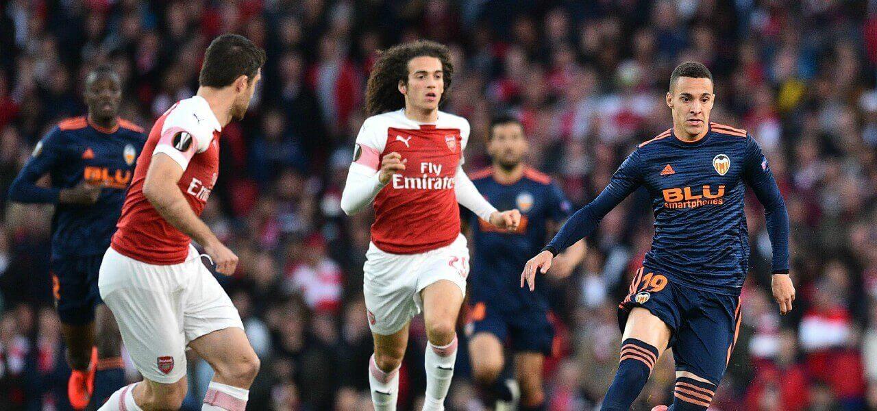 Rodrigo Guendouzi Arsenal Valencia lapresse 2019