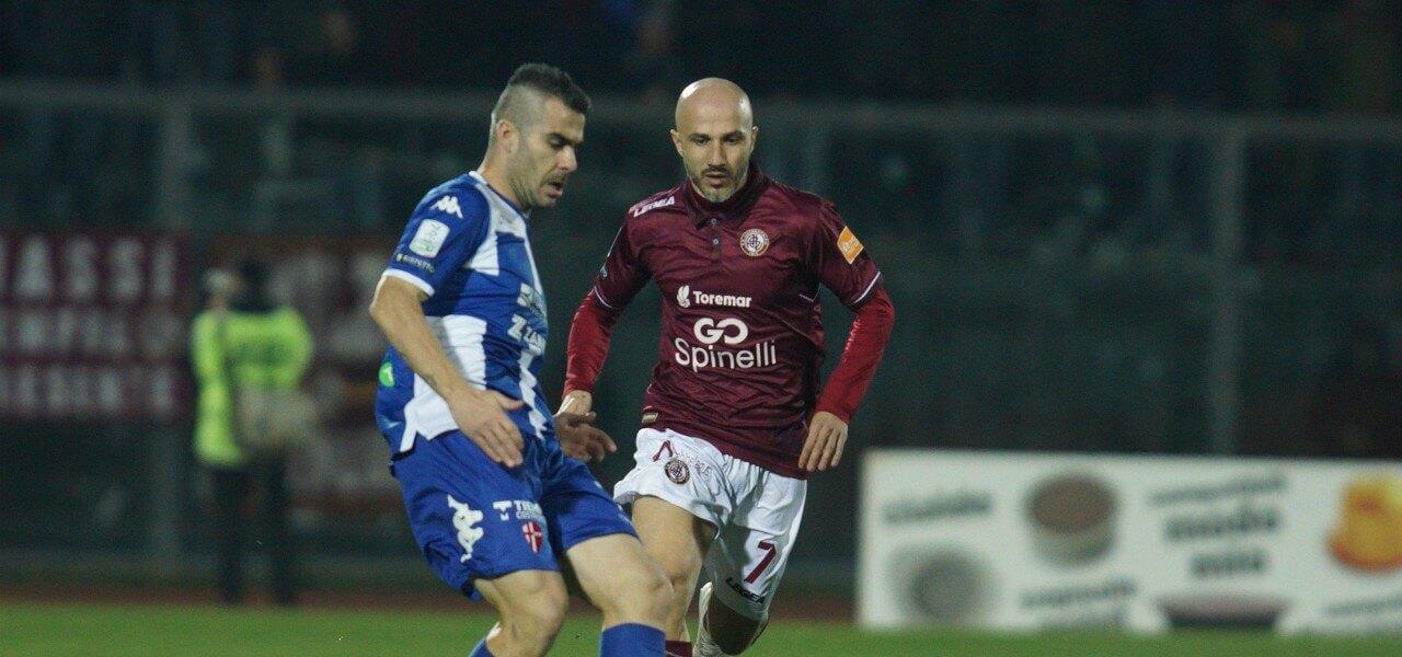 Pulzetti Valiani Padova Livorno lapresse 2019