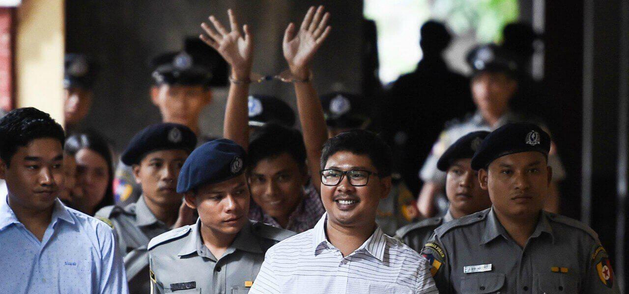 birmania giornalisti reuters rilasciati 2019 lapresse