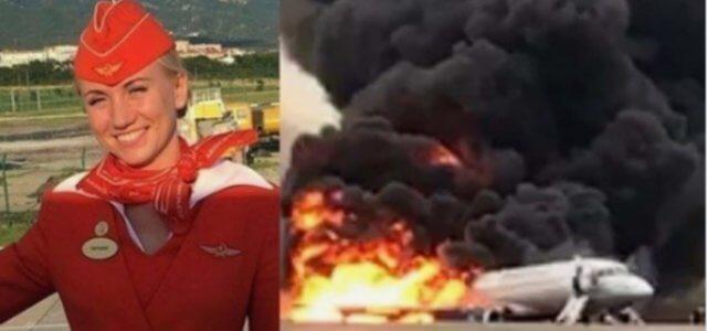 hostess aereo in fiamme 2019 facebook 640x300