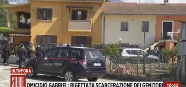 Omicidio Gabriel, perquisizione