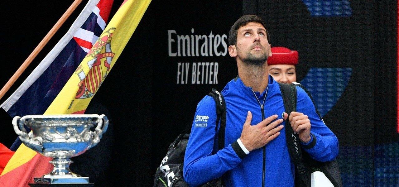 Djokovic Madrid ingresso lapresse 2019