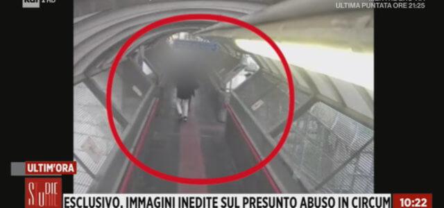 Stupro Circumvesuviana: nuove immagini
