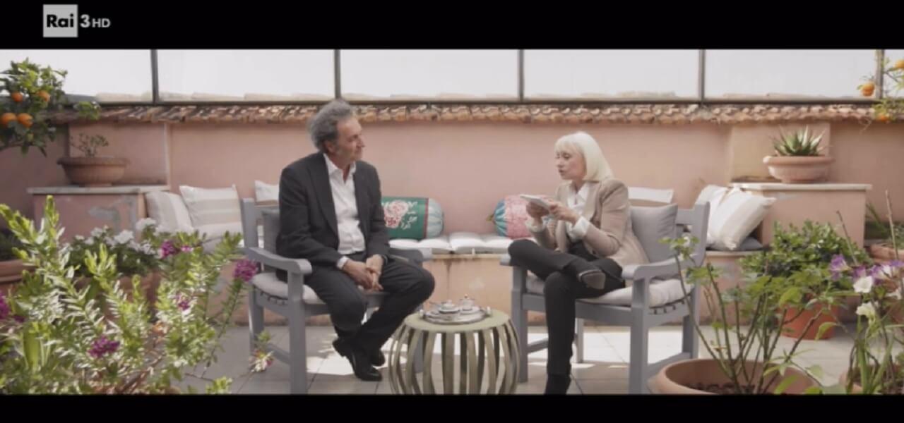 Paolo Sorrentino e Raffaella Carrà