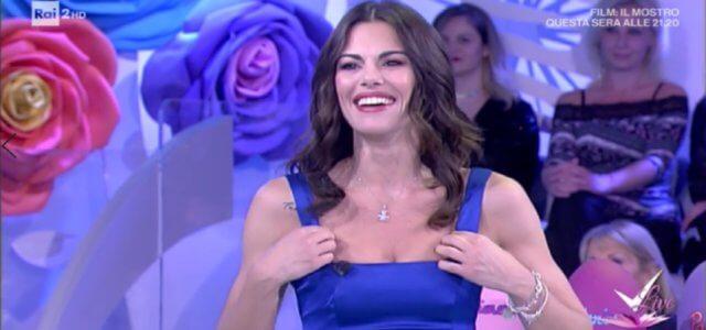 Bianca Guaccero a Detto Fatto
