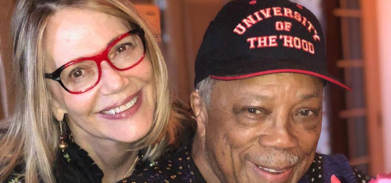 Peggy Lipton e Quincy Jones