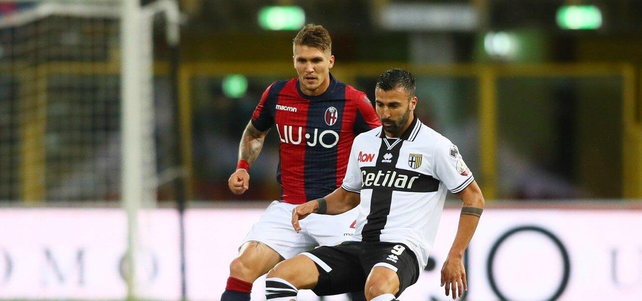 Ceravolo Lyanco Bologna Parma lapresse 2019