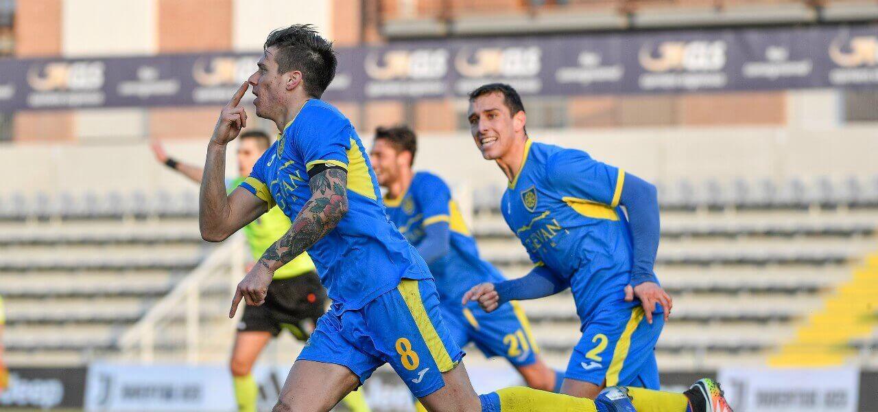Rosaia Carrarese gol lapresse 2019