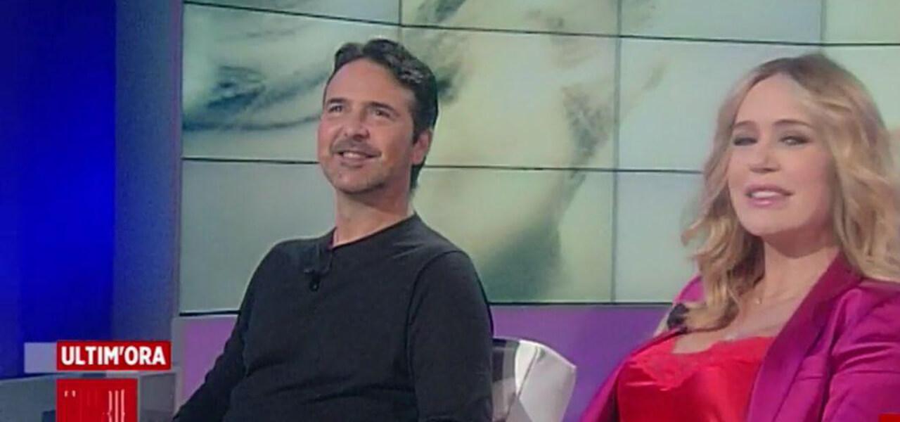 Brigitta Boccoli e Stefano Orfei
