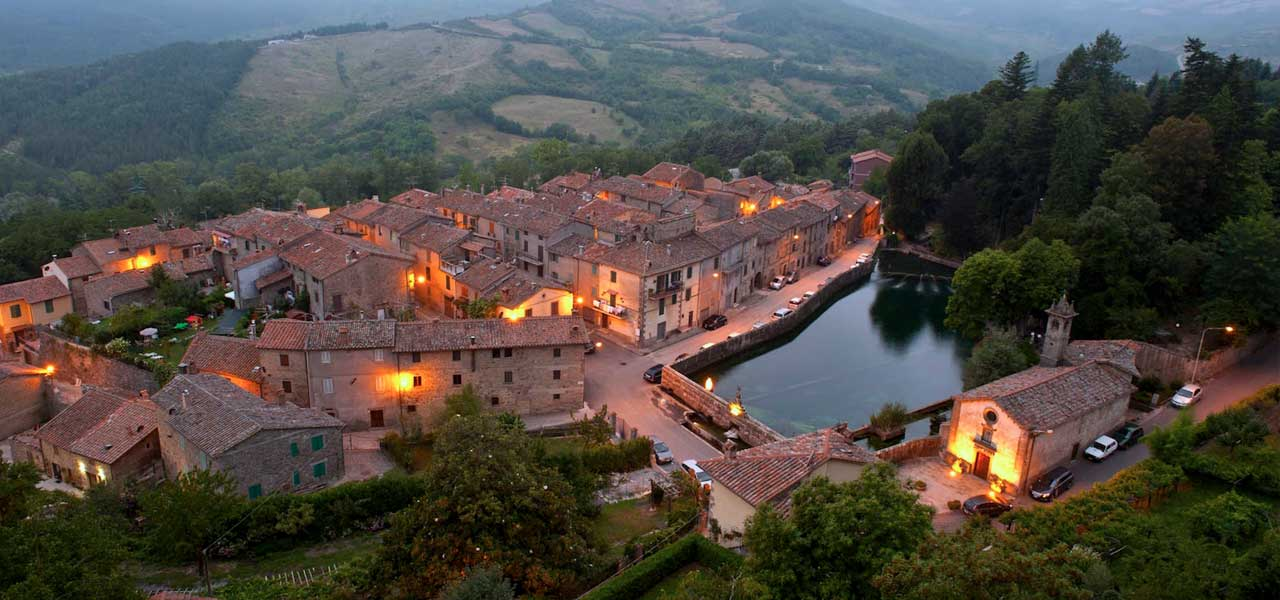 Santa Fiora in Toscana
