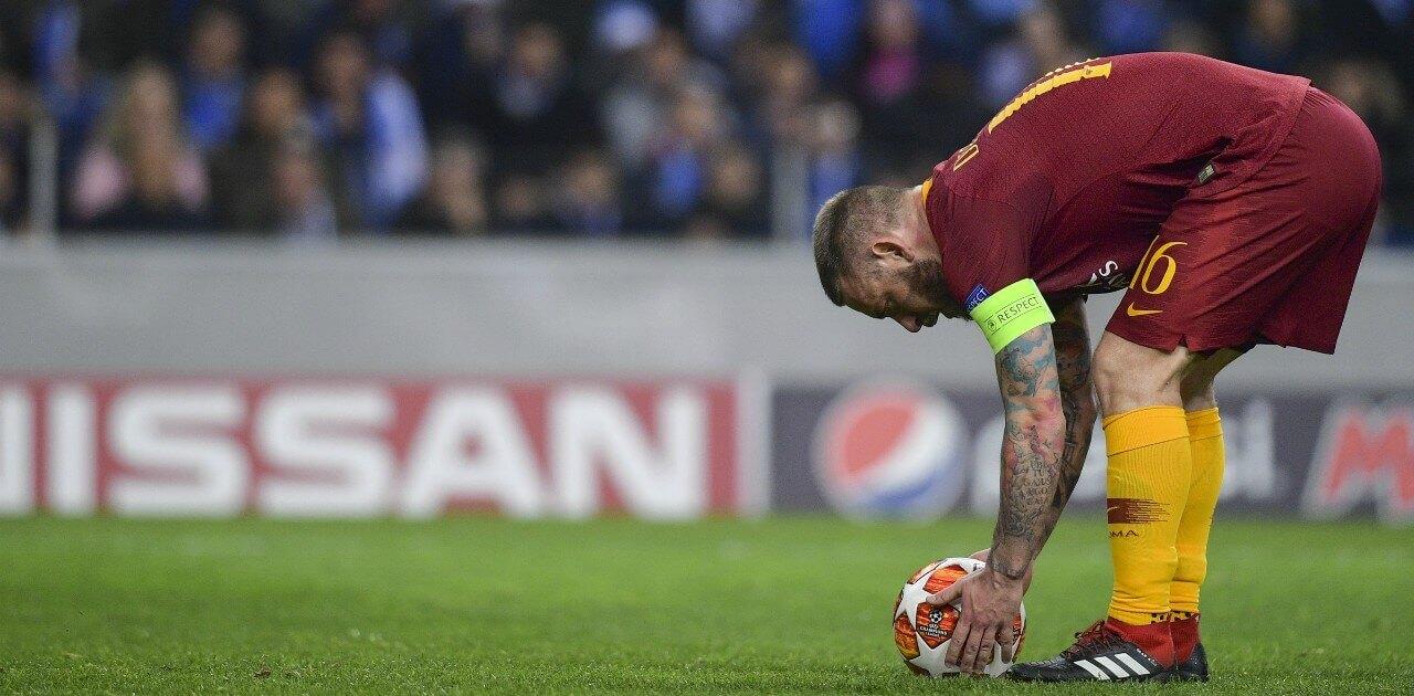 de rossi roma 2019 lapresse