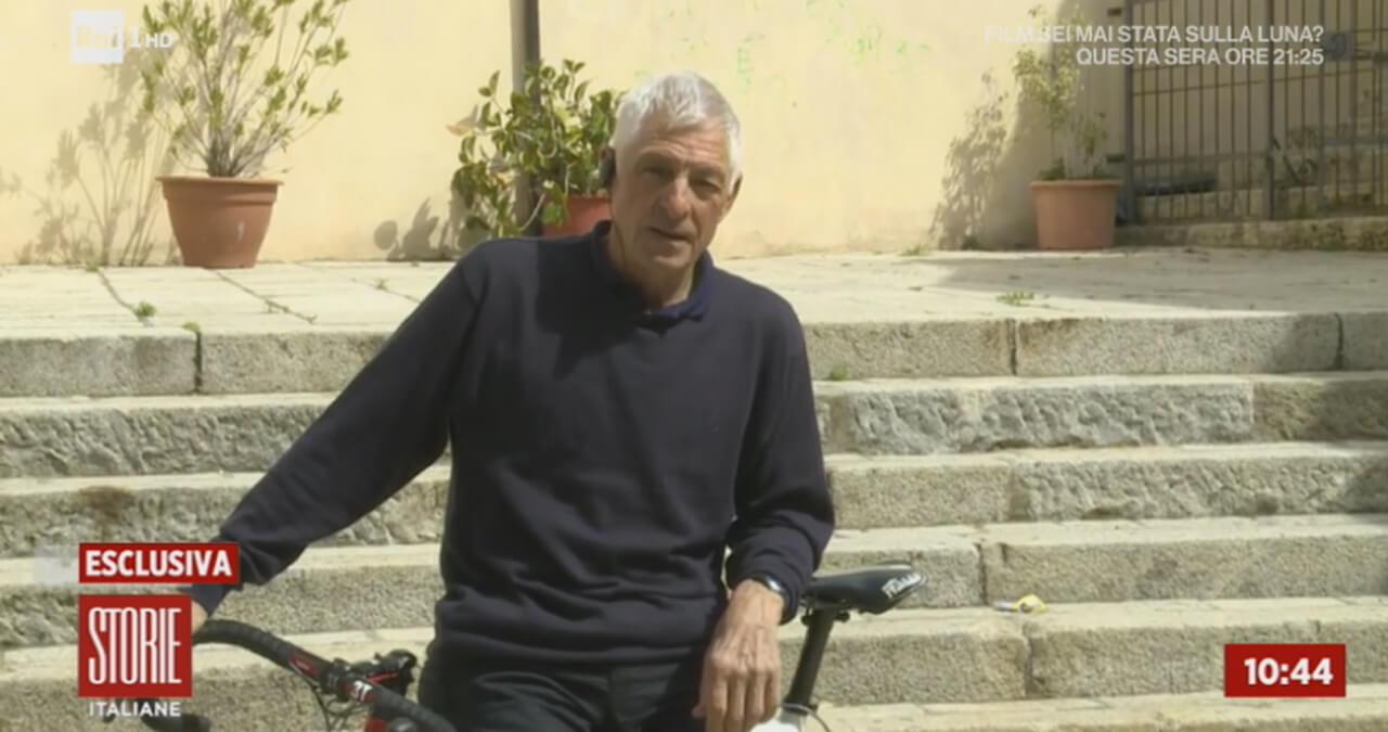 Francesco Moser a Storie Italiane