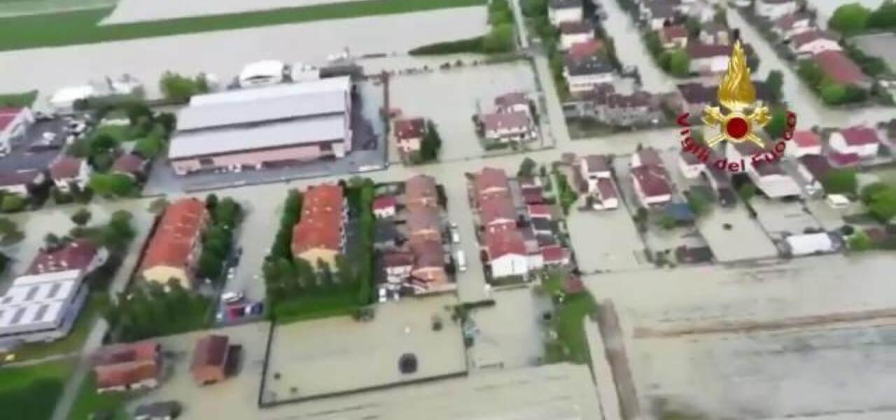 Maltempo in Emilia Romagna: inondazioni a Villafranc