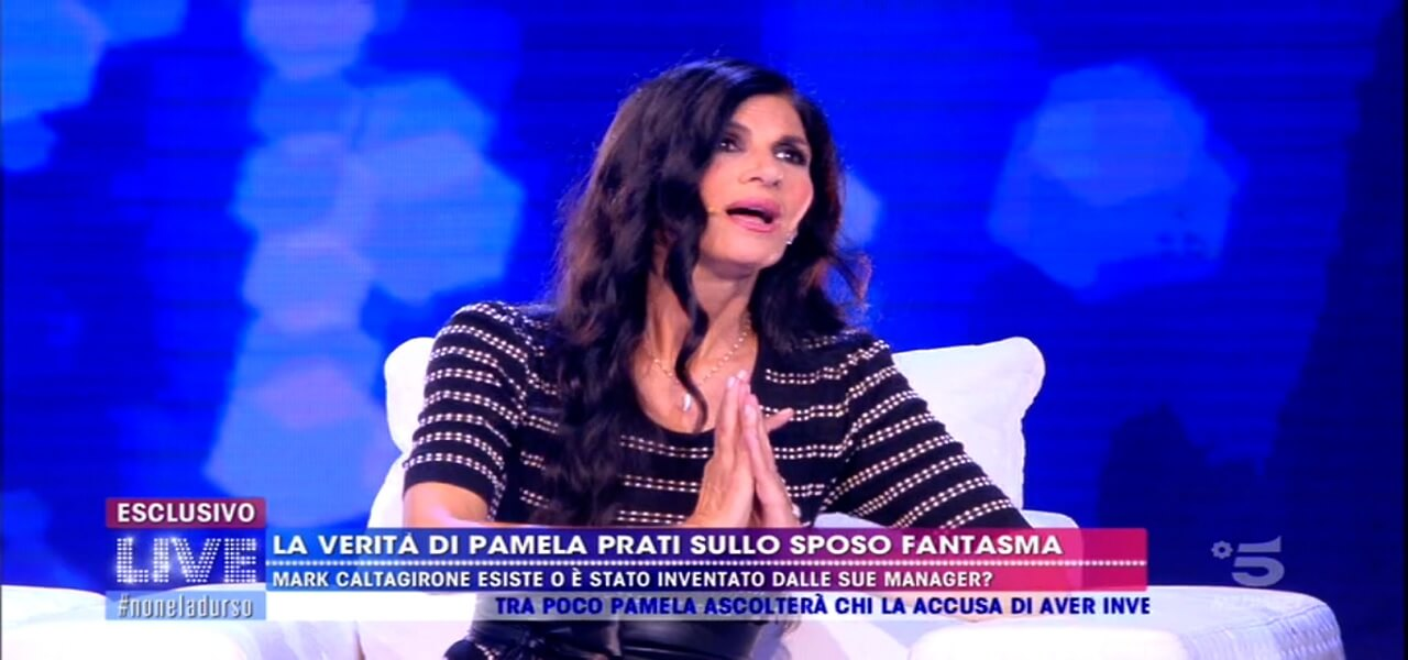 Pamela Prati a Live Non è la D'Urso