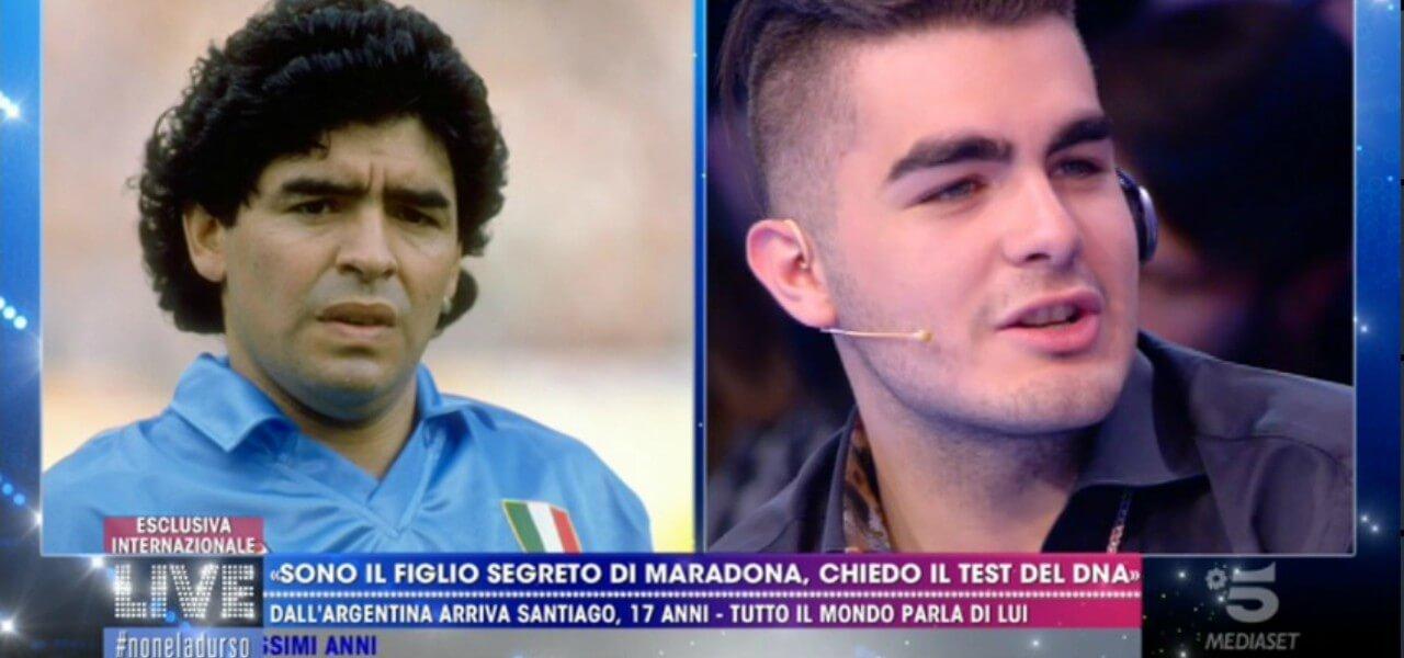 """Santiago Lara, """"figlio di Maradona""""/ """"Mia madre è morta ..."""