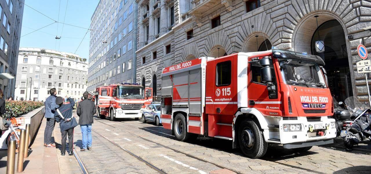Vigili del Fuoco a Milano