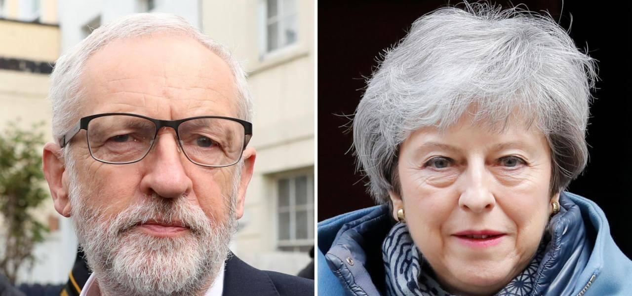 Brexit, Corbyn vs May