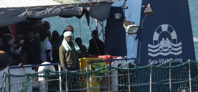 Migranti sulla Sea Watch