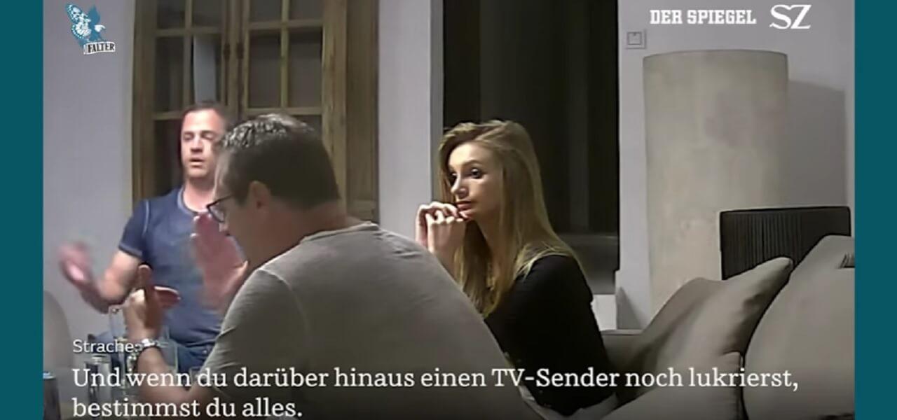 Austria., video trappola a Strache