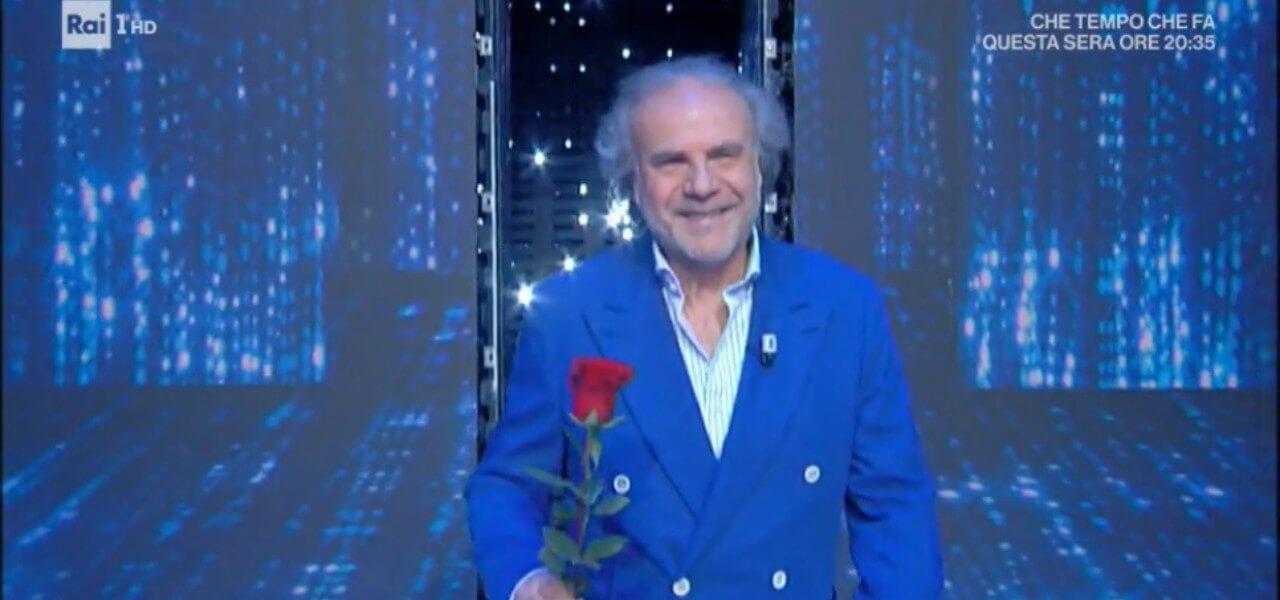 """Jerry Calà/ Rosa rossa a Mara Venier: """"Un ex così dove lo troviamo ..."""