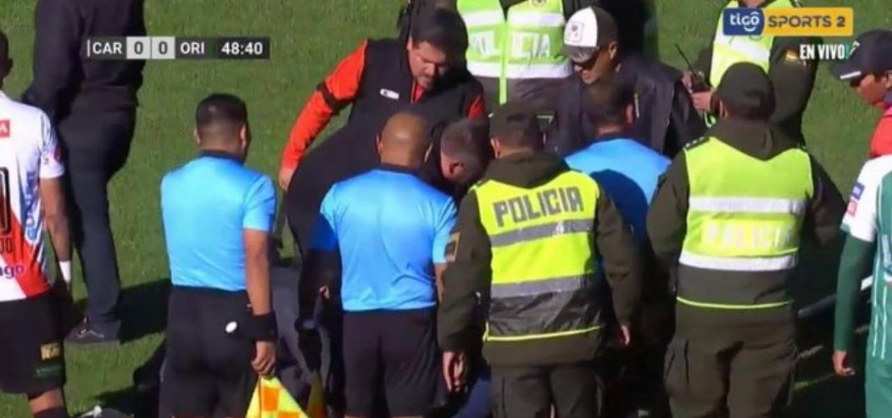 Arbitro morto in campo a Bolivia