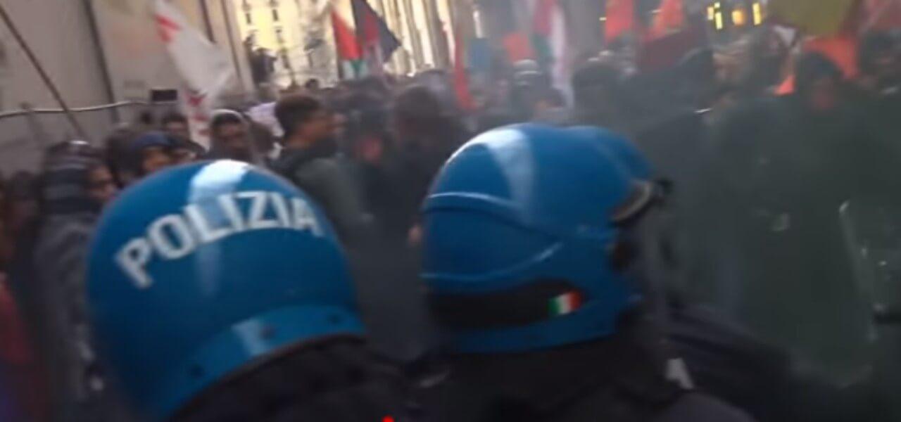 scontri bologna forza nuova 2019 youtube