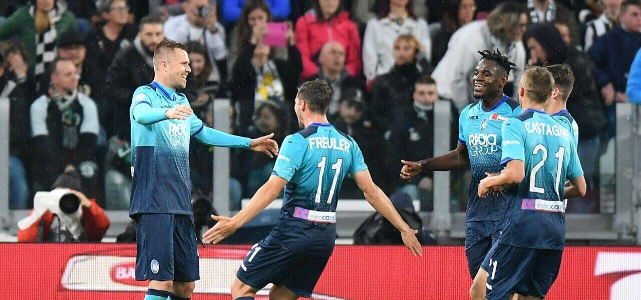 Ilicic Freuler Zapata Atalanta gol lapresse 2019