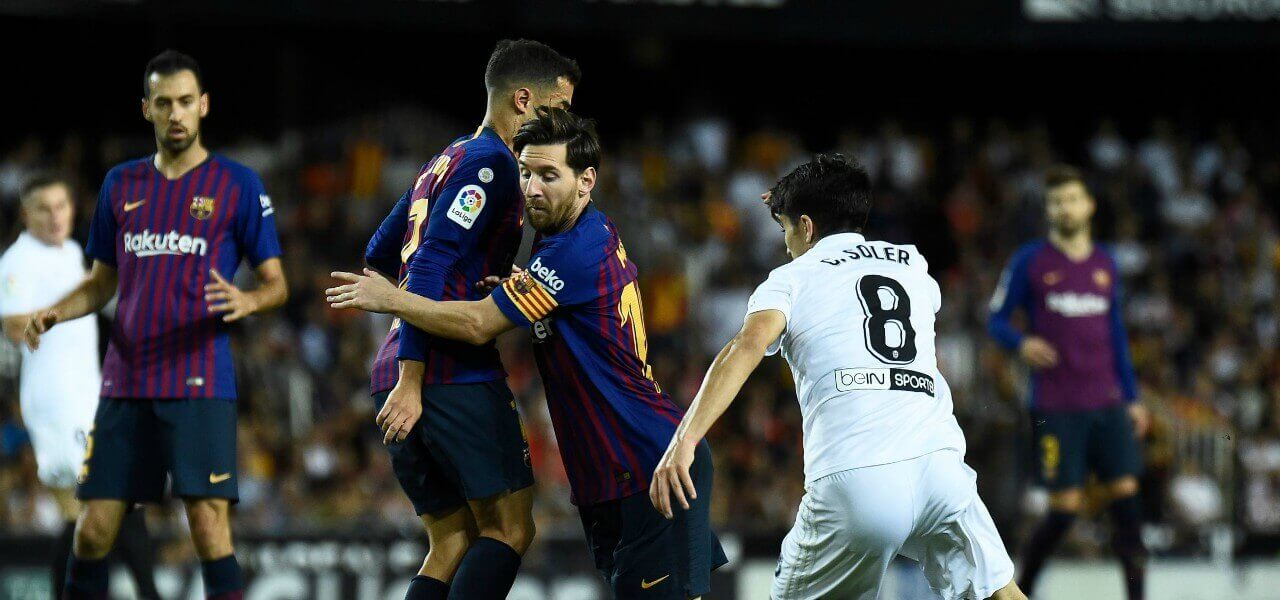 Messi Soler Barcellona Valencia lapresse 2019
