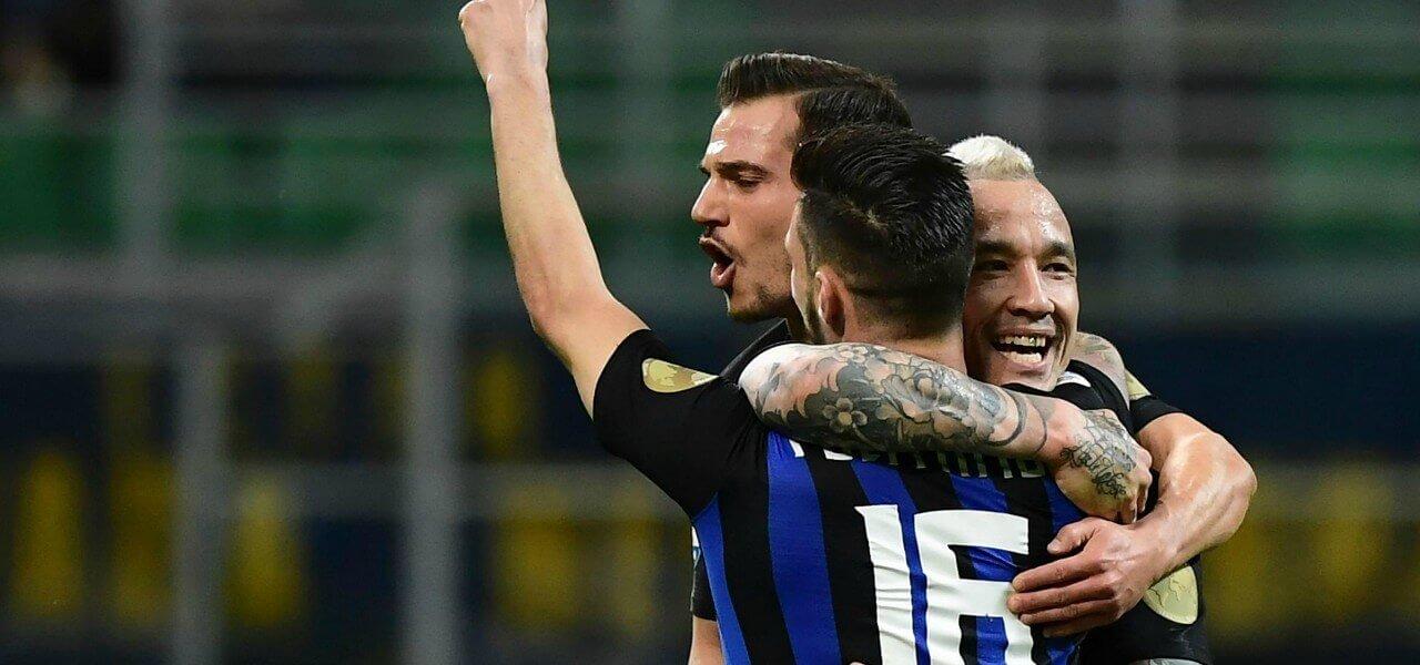 Politano Nainggolan Cedric Inter gol lapresse 2019