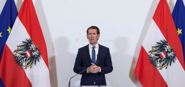 Austria, il cancelliere Sebastian Kurz
