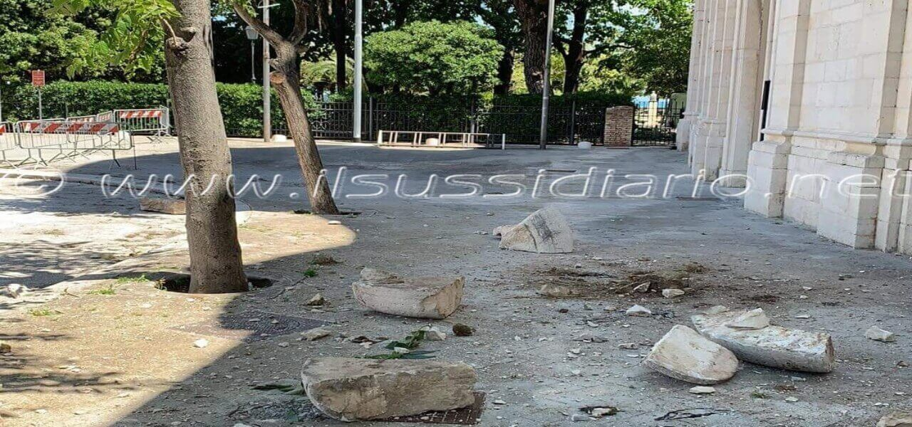 terremoto danni chiesa san domenico lucrezia de simone