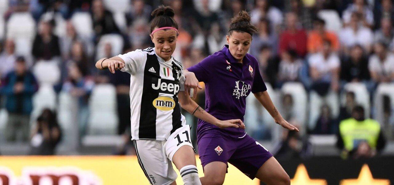 Bonansea Vigilucci Juventus Fiorentina donne lapresse 2019