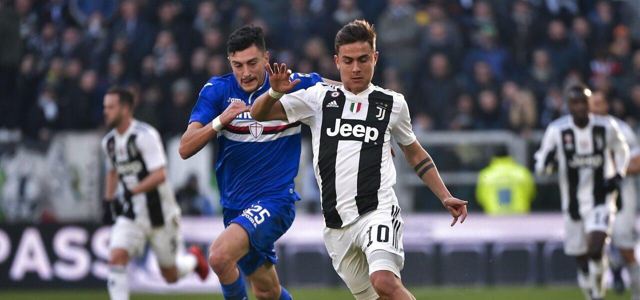Dybala Juventus Sampdoria