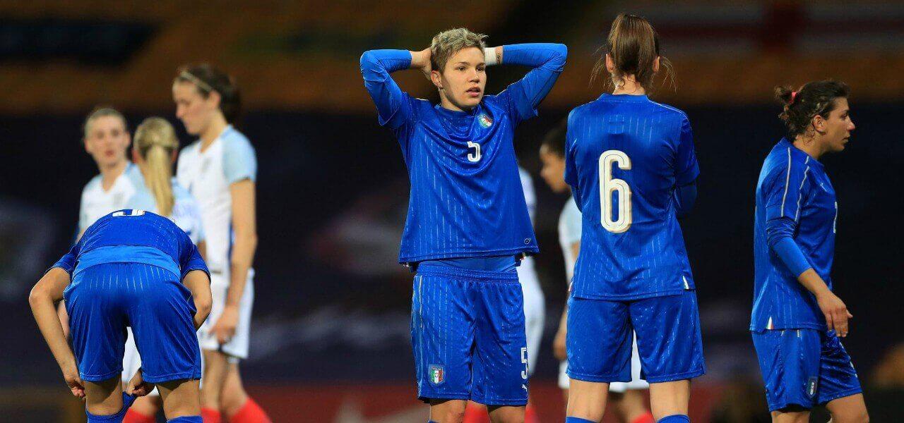 nazionale calcio donne femminile linari lapresse